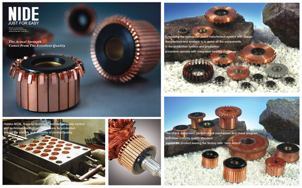 motor parts electrical commutator